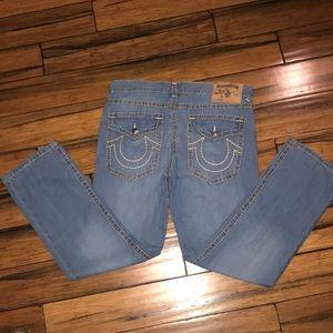 True Religion Ricky Straight Leg Jeans
